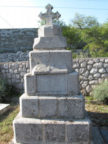 Memorial/ tomb of Ante Burmašević