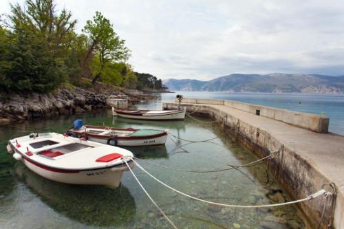 Small port Glavotok
