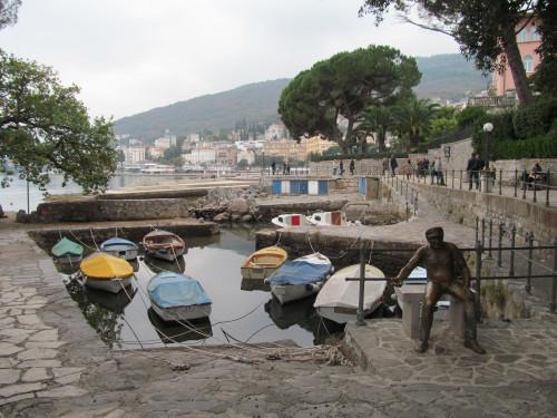 Small port Opatija