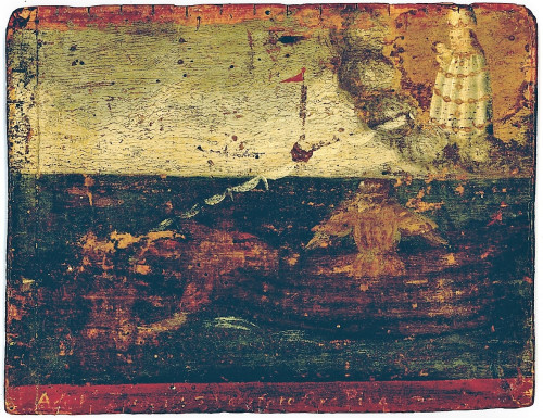 """Oldest maritime votive painting from Piran - Votive paintings' collection of """"Sergej Mašera"""" Maritime Museum in Piran"""