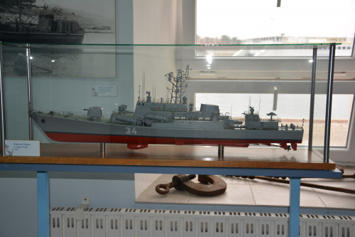 A collection of ship scale models from Shipyard Kraljevica
