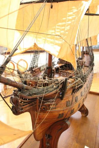 Friar Gabriel Gruber's ship scale models