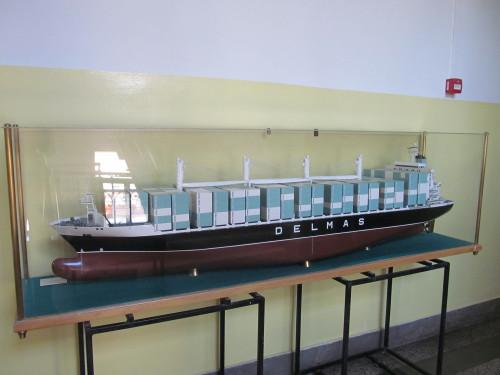 A collection of ship scale models - Shipyard 3. May Rijeka