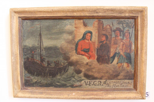 """Votive paintings' collection by """"Sergej Mašera"""" Maritime Museum in Piran"""