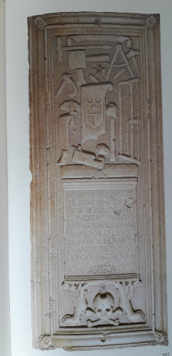 The tombstone of the caliphate Marganić
