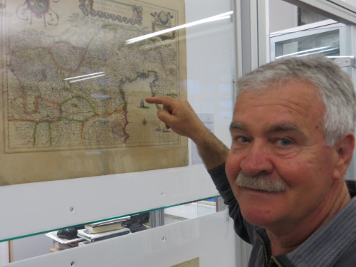 Mario Kljaković Gašpić's private collection of old navigational charts